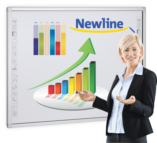 Tablica interaktywna Newline TRUBOARD IR-1078